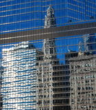 Specchio del grattacielo Immagine Stock