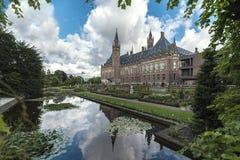Specchio del Palazzo della Pace immagine stock libera da diritti
