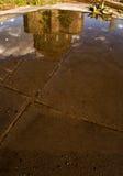 Specchio della chiesa (4 stagione Kars) immagine stock libera da diritti