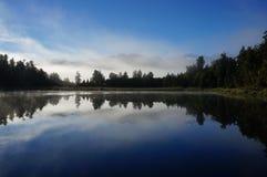 Specchio della natura Fotografia Stock
