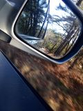 specchio della strada Fotografia Stock