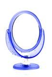 Specchio della tavola rotonda Fotografia Stock