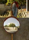 Specchio della via Fotografia Stock