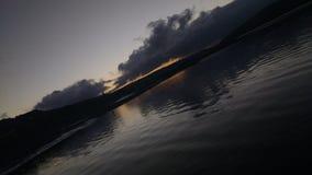 Specchio delle nuvole Fotografia Stock