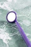 Specchio dentale fotografia stock