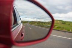 Specchio di azionamento Fotografia Stock