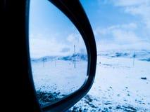 Specchio di azionamento Fotografia Stock Libera da Diritti