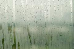 Specchio di condensazione fotografia stock