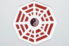 Specchio feng shui di bagua illustrazione vettoriale for Specchio ingresso feng shui