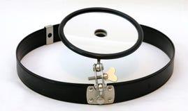 Specchio di otorinolaringoiatria Fotografie Stock Libere da Diritti