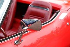 Specchio di rearview dell'automobile Immagini Stock Libere da Diritti