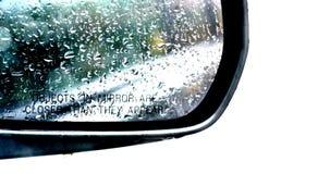 Specchio di retrovisione immagini stock