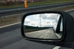 Specchio di un'automobile Fotografie Stock Libere da Diritti