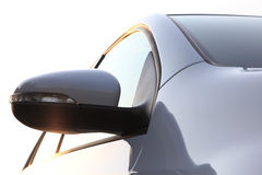 Specchio laterale dell'automobile. Immagine Stock Libera da Diritti