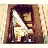 Specchio nel palazzo di Ciragan Immagini Stock Libere da Diritti