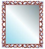 Specchio nel telaio Fotografia Stock Libera da Diritti