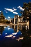 Specchio Panaroma di tramonto in Kars fotografia stock