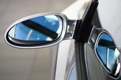 Specchio posteriore Fotografie Stock Libere da Diritti