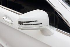 Specchio posteriore dell'automobile Fotografia Stock