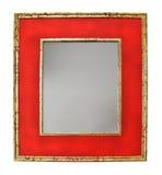 Specchio rosso Fotografia Stock