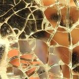 Specchio rotto Fotografie Stock Libere da Diritti