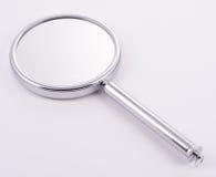 Specchio tenuto in mano con la maniglia Fotografia Stock