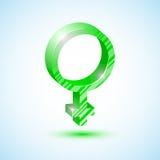 Specchio verde del Venere Fotografie Stock