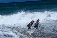 Speciaal apparaat om straalski aan het water te lanceren stock afbeelding