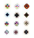 speciaal embleem 12 voor het brandmerken Royalty-vrije Stock Afbeeldingen