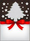 Speciaal het menuontwerp van Kerstmis Royalty-vrije Stock Foto