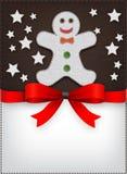 Speciaal het menuontwerp van Kerstmis Royalty-vrije Stock Afbeeldingen