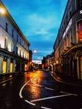 Speciaal licht in Galway stock fotografie