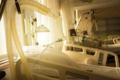 Speciaal materiaal voor kunstmatige ademhaling in een reanimatie royalty-vrije stock foto's