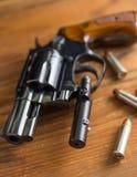 .38 speciaal met kogels Royalty-vrije Stock Foto's