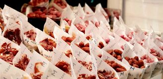 Speciaal Spaans voedsel stock afbeelding