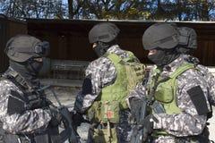 Special anti-terrorist squad Stock Photos