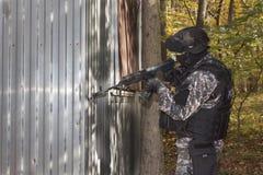 Special anti-terrorist squad Stock Photo