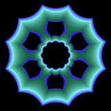 Special azul de la placa Fotografía de archivo