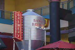 The special Banger Brewing Stock Photo