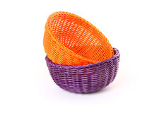 Special Basket. Hand Made basket Royalty Free Stock Photos