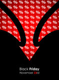 Special black friday banner Royalty Free Stock Photo