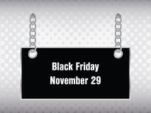 Special black friday banner royalty free illustration