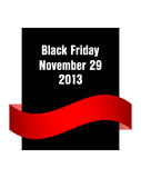 Special black friday flyer Stock Photography