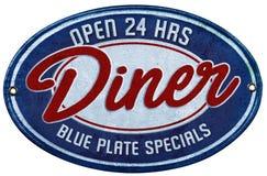 Special bleu de plaque Photographie stock libre de droits