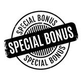 Special Bonus rubber stamp Royalty Free Stock Photos