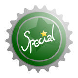 Special bottle cup Royalty Free Stock Images