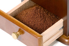 Special box for coffee Stock Images