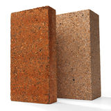 Special bricks, firebricks Stock Photos