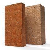Special bricks, firebricks Stock Photos