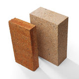 Special bricks, firebricks Stock Photography